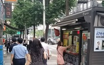 Vùng 'cách ly' người hút thuốc trên vỉa hè Seoul