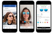 Facebook đưa quảng cáo thực tế tăng cường vào bảng cấp tin