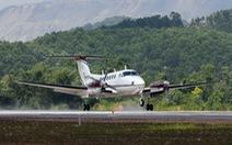 Chuyến bay hiệu chuẩn đầu tiên hạ cánh an toàn xuống sân bay Vân  Đồn