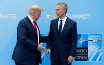 Tại sao ông Trump căng thẳng với NATO?