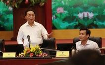 Bộ trưởng Môi trường bức xúc về chuyện cá chết ở Hồ Tây