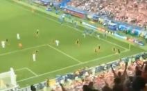 Clip Croatia đánh bại Anh 2-1 từ fancam, chia sẻ mạnh ngày 12-7
