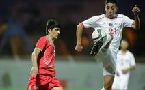U23 Palestine thay Úc đá với U23 Việt Nam