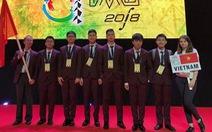 Olympic Toán Quốc tế: đoàn Việt Nam 1 vàng, 2 bạc, 3 đồng