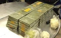 Phá đường dây ma túy xuyên biên giới, thu 179 bánh heroin