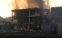 Nổ nhà máy hóa chất ở Trung Quốc, 19 người thiệt mạng