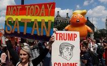 Thế giới trong tuần qua ảnh: 'Bé Trump' đại náo nước Anh