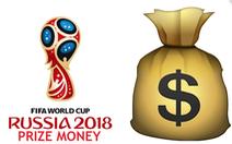 Vô địch World Cup 2018 sẽ ẵm về 875 tỉ đồng