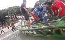 Chìm tàu cá ở Côn Đảo, hai ngư dân mất tích