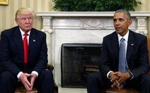 Ông Trump trách ông Obama 'biết là Nga sao không cản'