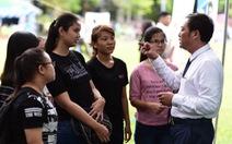 Ngày hội tư vấn xét tuyển ĐH, CĐ tại Hà Nội: Sẵn sàng 'gỡ rối' cho thí sinh
