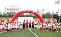 HLV Huỳnh Đức và Thanh Bình chọn xong 18 cầu thủ nhí sang Nhật Bản du đấu