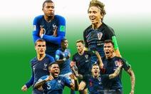 Một ngôi sao nữa trên ngực áo người Pháp hay lần đầu cho Croatia?