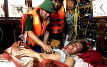 Ba ngư dân mất tích sau khi tàu cá va chạm tàu vận tải