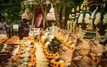 Giải cứu đội bóng Thái Lan: cầu nguyện nữ thần hang Tham Luang