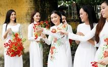 Ngắm bộ sưu tập áo dài 'Mối tình đầu' của cuộc thi Nét đẹp sư phạm TP.HCM