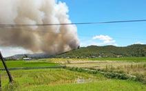 Hơn 500 người đang chữa cháy rừng thông ở Nghệ An