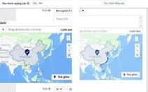 Xác định sai lệch bản đồ Việt Nam: Facebook nói đang sửa lỗi
