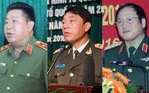 Kỷ luật 3 cán bộ cấp cao  của quân đội và công an