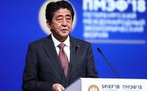 Thủ tướng Shinzo Abe cảm ơn các tuyển thủ Nhật Bản