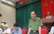 Công an Hà Nội thông tin vụ tự thiêu trước trụ sở Ban Tiếp dân