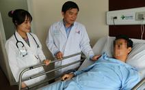 Cắt nửa lá phổi cho bệnh nhân hóc xương cá trong 5 năm