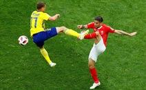 Thụy Điển - Thụy Sĩ 1-0: Sau 24 năm Thụy Điển lại vào tứ kết World Cup