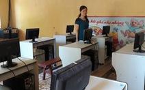 Phòng máy tính bỏ không vì thiếu giáo viên tin học