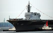 Nhật đưa tàu chiến lớn nhất tới Biển Đông