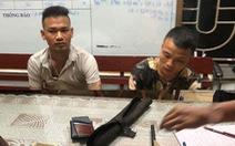 Bắt giữ hai thanh niên mang súng nghi đi đòi nợ mùa World Cup