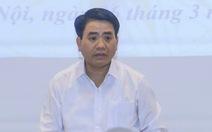 Ông Nguyễn Đức Chung giải thích ý tưởng 'chia sẻ dữ liệu dân cư'
