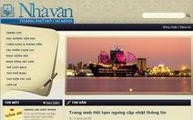 Trang web của Hội Nhà văn TP.HCM lại ngưng hoạt động