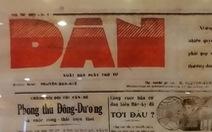 DÂN - đúng như tên gọi của nó, là tờ báo của dân