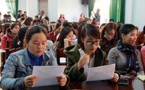 Sẽ thanh lý hợp đồng hơn 500 giáo viên dôi dư 'đúng quy định'