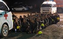 Nỗ lực giải cứu đội bóng thiếu niên Thái Lan trong đêm nay