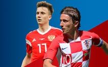 Lịch sử đối đầu: Nga chưa từng thắng Croatia