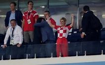 Tổng thống Croatia: Nữ cổ động viên đặc biệt