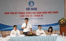 Khai mạc hội nghị Ban thư ký Hội Sinh viên Việt Nam