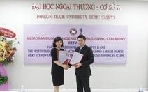 ICAEW ký kết hợp tác chiến lược với ĐH Ngoại thương TP.HCM