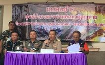 Họp báo chiều 9-7 từ hang Tham Luang: Sẽ có tin tốt lành trong chiều nay