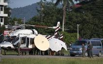 Giải cứu đội bóng Thái Lan: Kết thúc ngày thứ hai, thêm 4 em ra ngoài an toàn