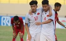 U19 Việt Nam bị loại khỏi Giải U19 Đông Nam Á 2018
