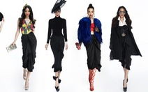 Một chân váy đen, mười cách mặc sáng tạo!