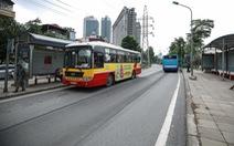 Hà Nội đề xuất khôi phục làn riêng xe buýt tuyến Nguyễn Trãi - Hà Đông