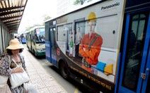 Quảng cáo trên xe buýt ở TP.HCM: Sao không ai mặn mà?