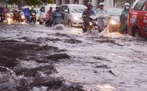 Vẫn lo ngập nước đường Nguyễn Hữu Cảnh