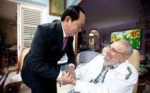 Cuộc gặp cuối cùng Chủ tịch nước Trần Đại Quang với Fidel Castro