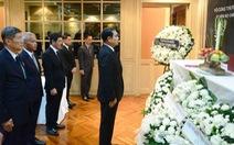 Chủ tịch nước Trần Đại Quang từ trần: Các nước tổ chức quốc tang, gửi điện chia buồn
