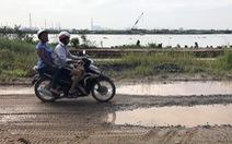 Biến đê bao thành đường ven sông Sài Gòn