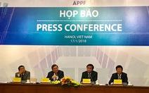 Đoàn nghị viện 21 nước dự APPF tại Việt Nam